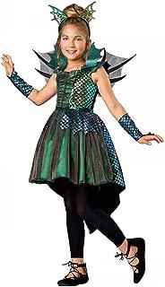 Direct Halloween Girls Deluxe Dragon Costume