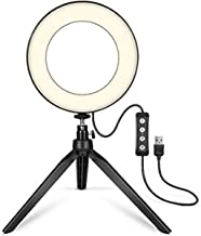 yiiena Broadcast Live Photography Fill Light LED Camera Phone Flash Dimmable Light On-Camera Video Lights