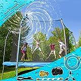 Vantic Trampoline Sprinkler, Net Friendly Trampoline Water Sprinkler for Kids, 360°...