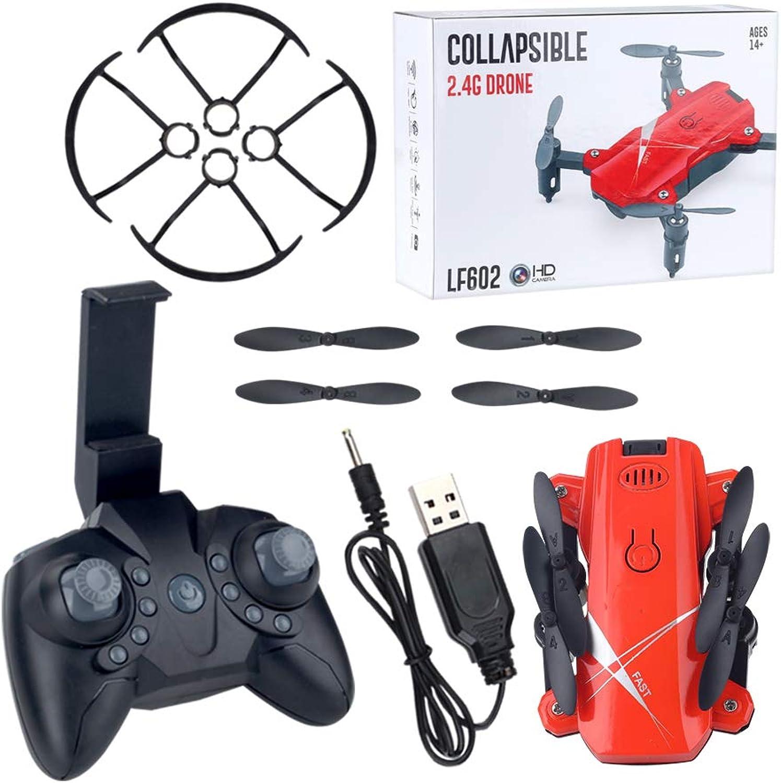 tomamos a los clientes como nuestro dios BAZ Drone Quad-Axis Aircraft Control Remoto Aeroplano Aeroplano Aeroplano Plegable de Juguete,Rojo,11  3.5cm  a la venta
