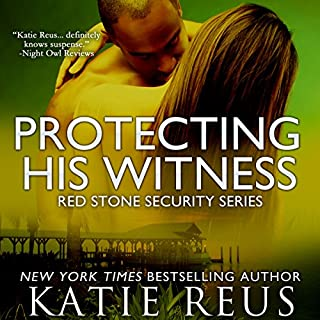 Protecting His Witness     Red Stone Security, Book 7              By:                                                                                                                                 Katie Reus                               Narrated by:                                                                                                                                 Sophie Eastlake                      Length: 4 hrs and 8 mins     91 ratings     Overall 4.6