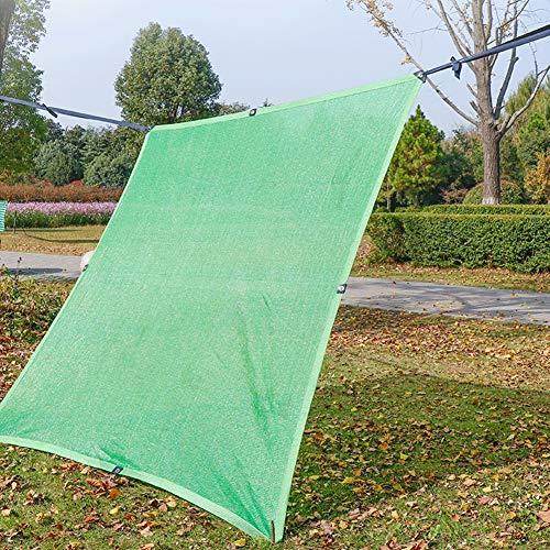 WXQIANG Cubierta para sombra de jardín de pérgola, tela de malla con ojales reforzados, bloqueo del 85% de protección UV, aislamiento térmico, tamaño 3 m x 10 m