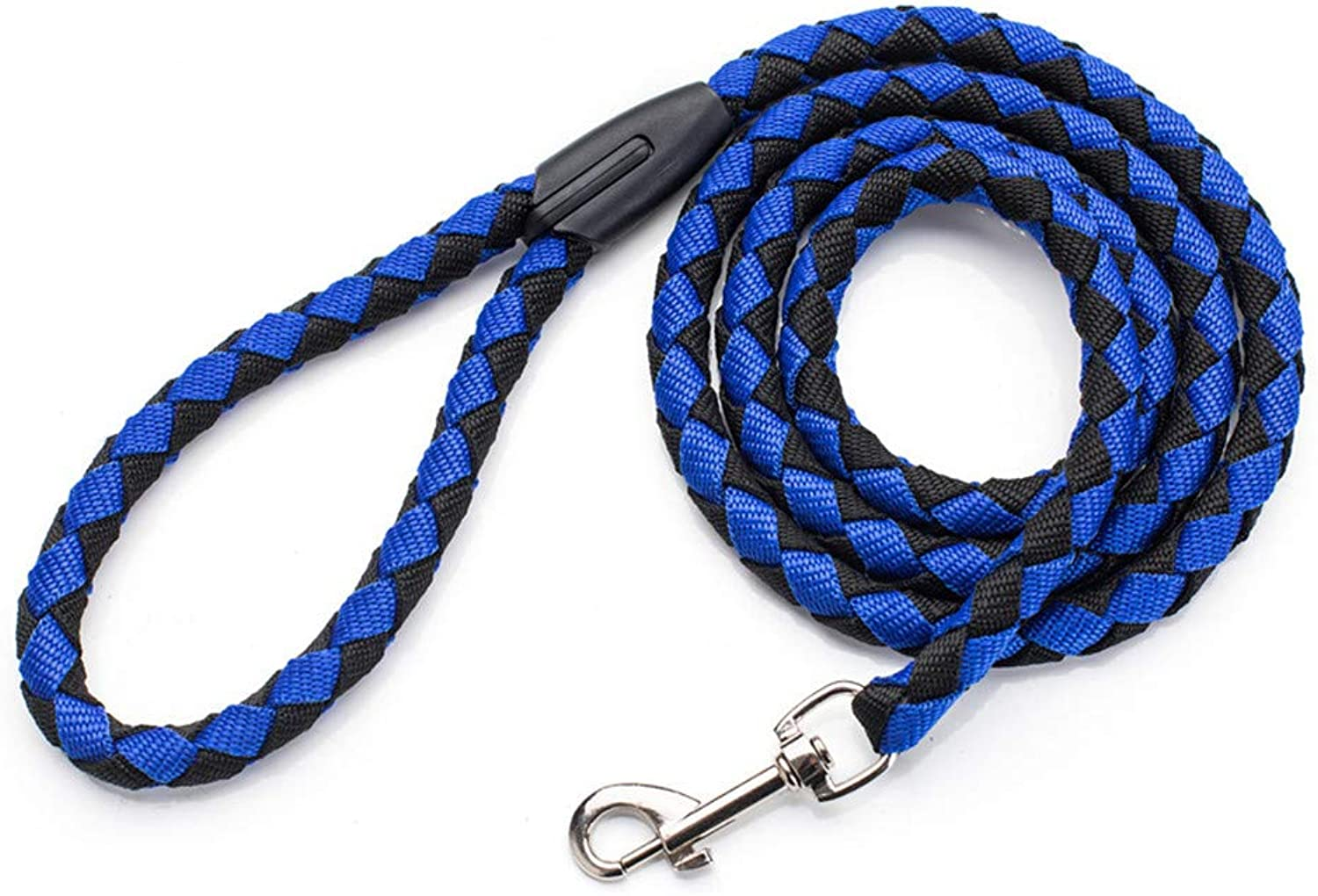 Dog Leash Pet Rope Leash for Small and Medium Dogs Sturdy Comfortable Dog Leash 5 FT Long (2 Pieces),bluee