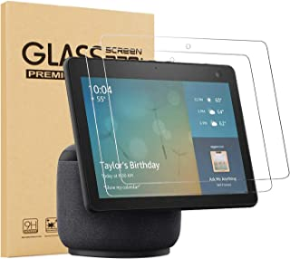"""[2 Pack] Epicgadget Glass Screen Protector for Amazon Echo Show 10 (3rd Gen) 10.1"""", Ultra HD Clear Anti Scratch 9H Hardnes..."""