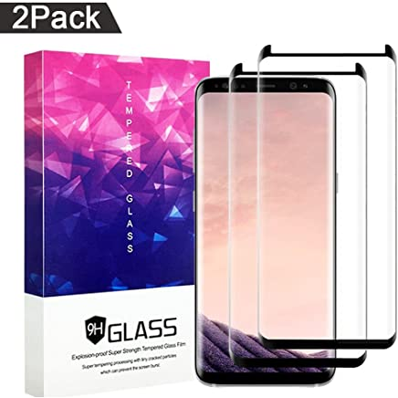 Galaxy S8 Plus Screen Protector,ZUOXI Tempered Glass,9H Hardness[Anti-Scratch