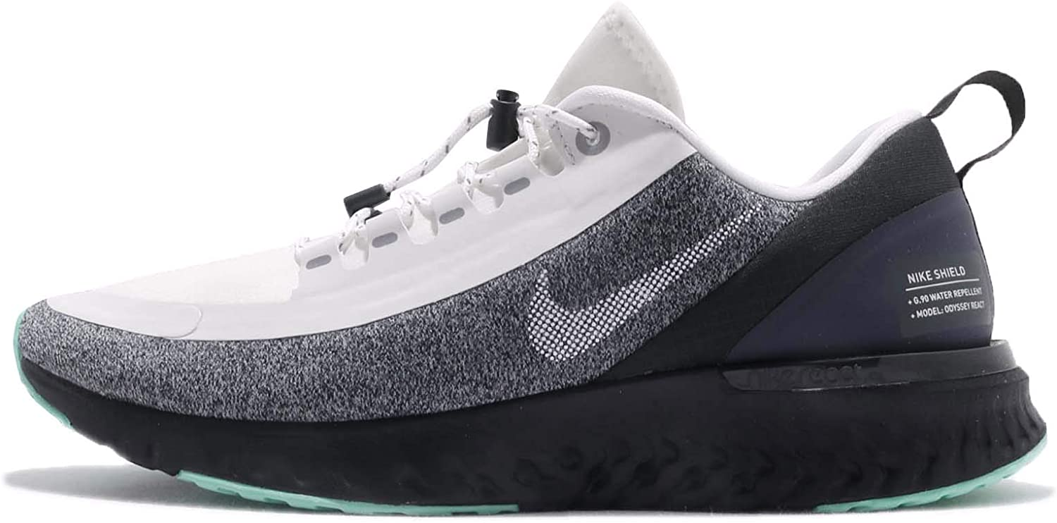 Nike Women Odyssey React Shield Running shoes White Black Green
