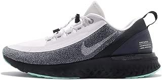 Nike Women Odyssey React Shield Running Shoe White/Black/Green