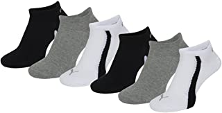 Puma, Unisex Ring Sneakers 201203001 - Calcetines Deportivos, Pack de 6