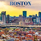 Boston 2022 12 x 12 Inch Monthly Square Wall Calendar with Foil Stamped Cover, USA United States of America Massachusetts Northeast City