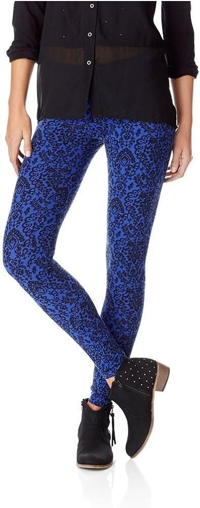Aeropostale Womens Stretch Fabric Casual Leggings, Blue, Small
