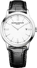 Baume et Mercier Classima White Dial 42mm Men's Watch 10414