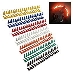 in budget affordable customTAYLOR33 Warhawk / Mohawk High Brightness Reflective Sticker (Warhawk's rubber and helmet …