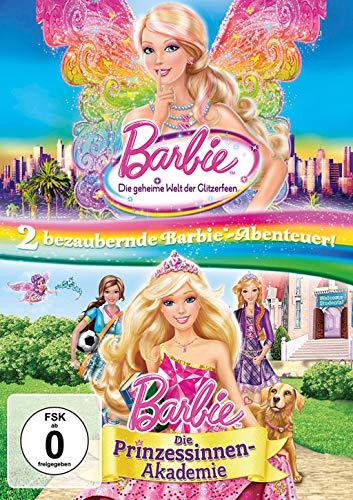 Barbie - Die geheime Welt der Glitzerfeen & Die Prinzessinnen-Akademie (2 DVDs)