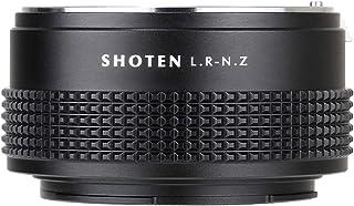 SHOTEN LR-NZ マウントアダプター[レンズ側:ライカR ボディ側:ニコンZ]