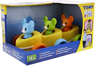 Tomy Play To Learn T72099 Cheesy Riders, Multi Color