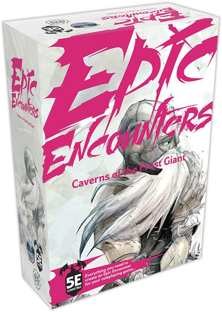 Steamforged Great Directly managed store interest Epic Encounters: Caverns Giant of The Frost
