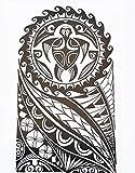 Tatuaje tribal maorí hb857