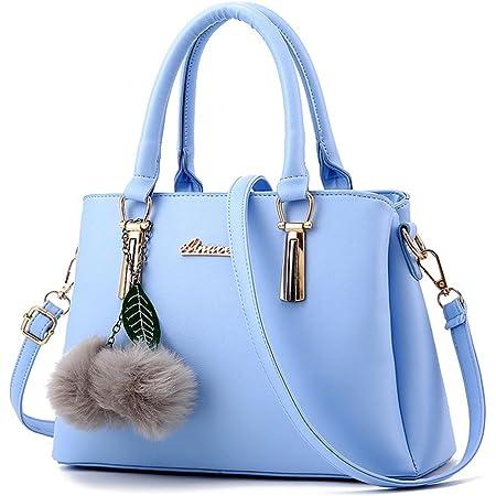 ZiXing Modetrend Handtaschen Schulter diagonal Tasche beiläufige Handtaschen Frauen Handtasche Hellblau