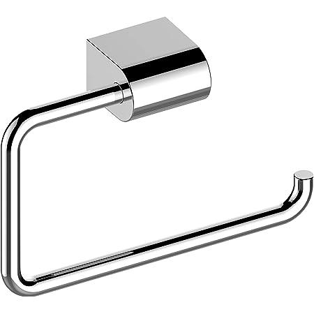 KEUCO Metal Toilet Roll Holder High Gloss Chrome Open Shape Toilet Roll Holder for Bathroom and Guest Toilet Smart.2