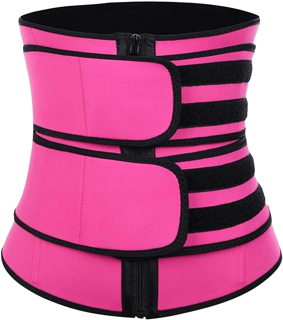 Nixiang Women Body Shaper Bodysuit Firm Control Shapewear Motion Abdominal Band Corset Waist Trainer Belt