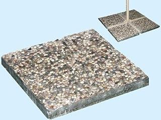 45 * 22 * 14cm pu/ò Essere Riempito con Sabbia Set Base per Ombrellone da Giardino in Tessuto Zoternen Base per Ombrellone Quadrata