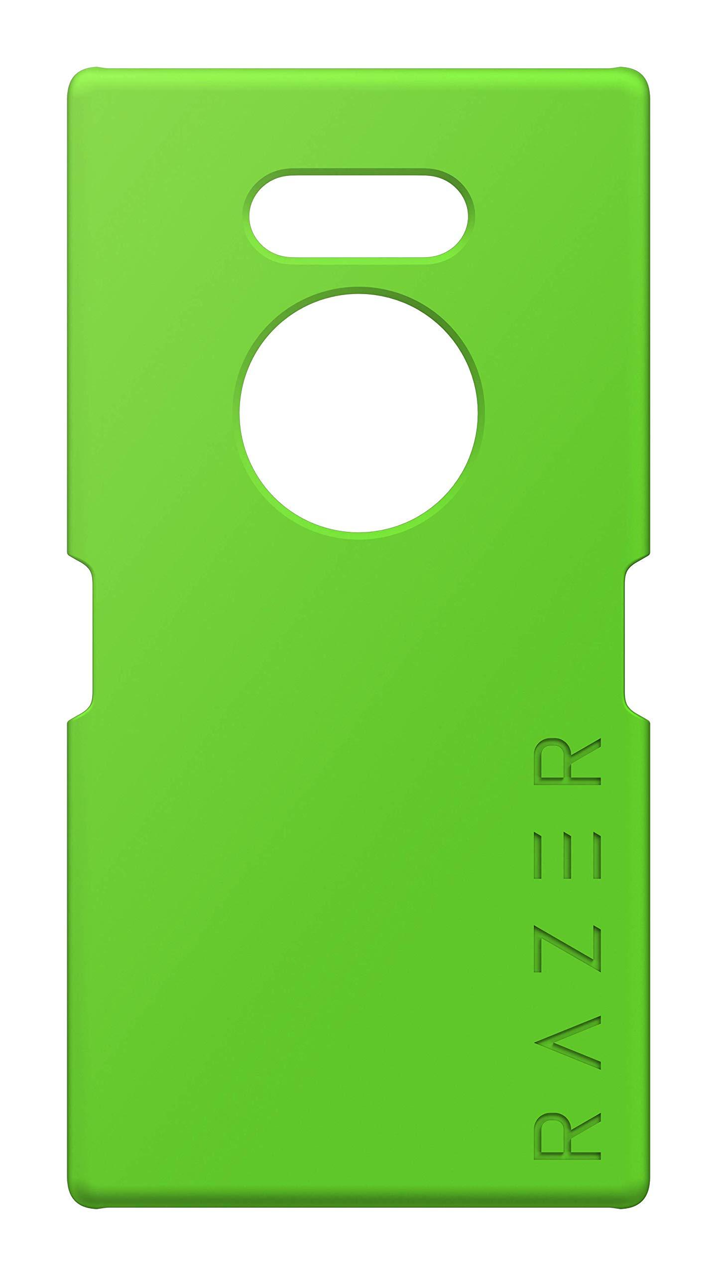RAZER Razer Phone 2モバイルシェルソフトタッチシリコン - マイクロファイバーライニングRazerロゴグリーン