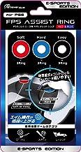 PS5コントローラ用 FPSアシストリング(レッド&ブルー)