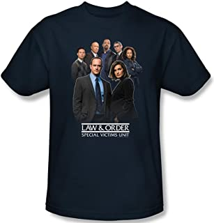 Law & Order Special Victims Unit Team Photo Licensed Adult T-Shirt