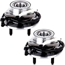 ECCPP Wheel Hub and Bearing Assembly Front 515029 fit 2000-2019 Ford F-150 Ford F-150 Heritage 4WD Replacement for 5 lugs wheel hub with ABS 3 Bolt Flange 2 pcs
