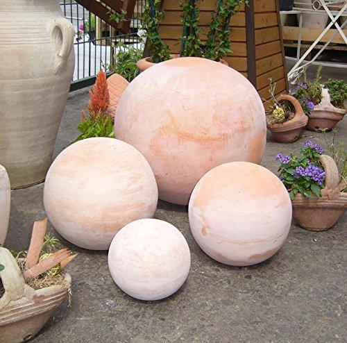 Kugel ca. 30 cm aus Terracotta Terrakotta Deko Garten