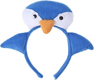 BESTOYARD Animals Ears Headband Penguin Party Cosplay Hair Hoop Fancy Dress Headwear Masquarade Performance Props