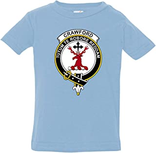 Baby's Scottish Clan Crest Badge Crawford Shirt