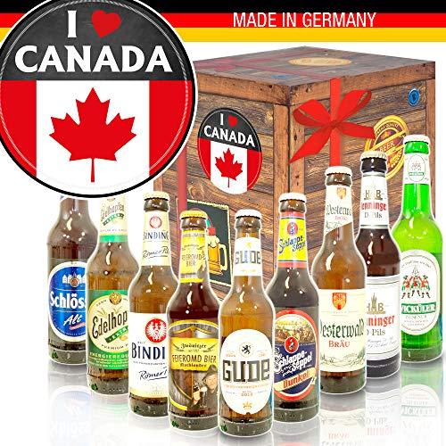 I love Canada/Deutsche Biere/Kanada Geschenkbox