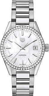 TAG Heuer - Carrera Diamond White Mother of Pearl Reloj de mujer WBK1316.BA0652