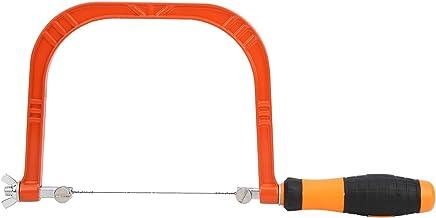 Mini sierra caladora Sierra caladora resistente a la corrosión Sierra caladora para carpintería Mango de 110 mm Aleación de aluminio Simple para trabajo manual con fuerza uniforme