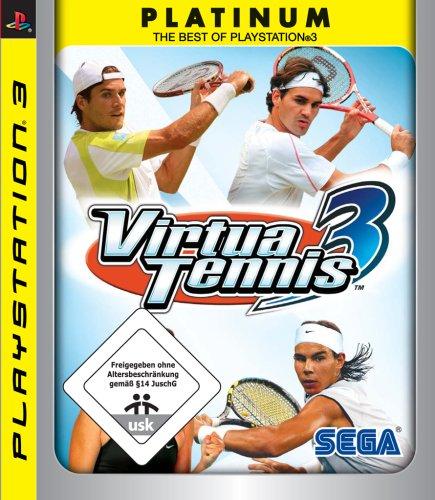 SEGA Virtua Tennis 3 (Platinum), PS3 - Juego (PS3, DEU)