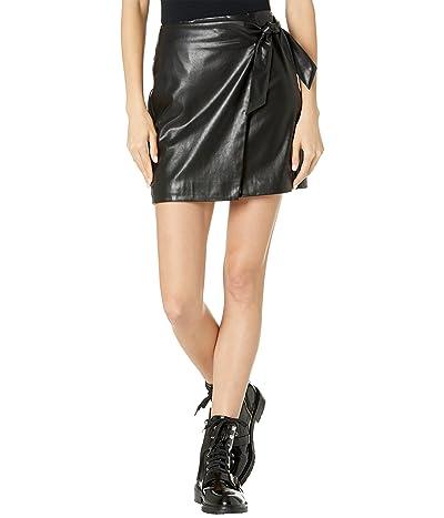 Blank NYC Wrap High-Rise Skirt