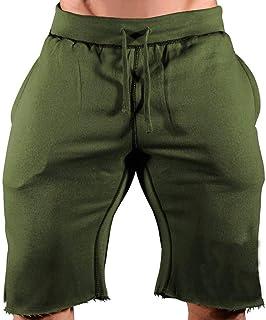 WEUIE Fashion Men's Casual Sports Jogging Drawstring Elastic Waist Short Pants SweatpantsMen Athletic Shorts