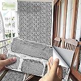 Lianlili 20x10cm Piedra de Piedra Pegatina de Pared Impermeable Autoadhesivo PVC Pegatinas de azulejo para baño Cocina de Cocina Decoración del hogar (Color : UB038, Size : 10x20x54pcs(1m2))