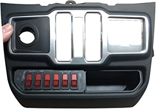 S-TECH Switch System for Jeep JL with six 30A circuits, LED Rockers and Plug/Play custom wire harness (Red)