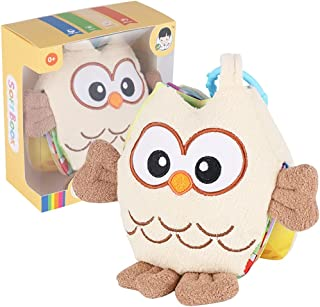 YHomU Teaching Toy Touch Feel Education Kids Babies Girl Boy Baby Cloth Book Soft Developmental Interactive Educational Fu...