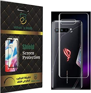 For Asus ROG Phone 3 Back Screen Protector Clear Anti Scratch Gelatin Flixable