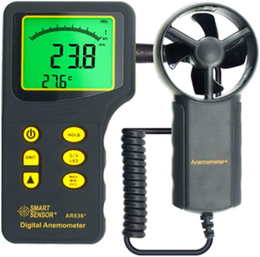 Digital Anemometer Mail order cheap New popularity Wind LCD Speed
