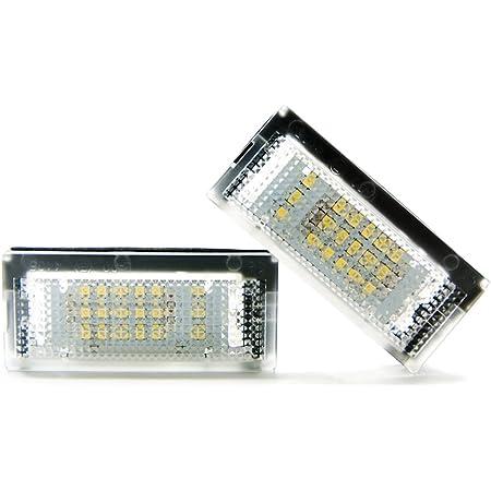 2 X Led Kennzeichenbeleuchtung Leuchte Xenon Kennzeichen Licht 6000k Auto