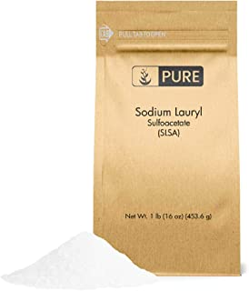 Sodium Lauryl Sulfoacetate (SLSA) (1 lb.) by Pure Organic Ingredients, Eco-Friendly Packaging, Ideal Bath Bomb Additive, Gentle on Skin, Surfactant & Latherer