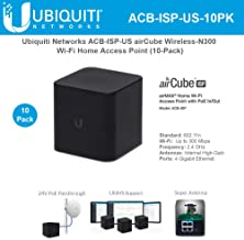 airCube AC ISP ACB-ISP-US Wireless-N300 Wi-Fi airMAX Home Wi-Fi Access Point (10 Pack)