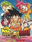 Dragon Ball Super Libro de Colorear: 100 páginas para colorear de alta calidad para niños, adolescentes y adultos | Dragon Ball Super, Dragon Ball GT, ... Ball Coloring Book, otaku para colorear.