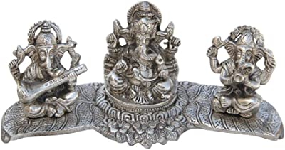 Handicrafts Paradise Metal Musical Ganesha