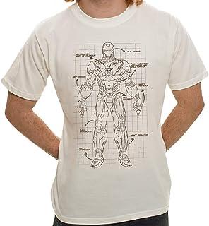 Camiseta Homem de Ferro Projeto - Masculina