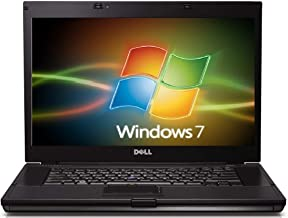 """Dell Latitude E6510 Intel i7 Quad Core 1600 MHz 320Gig Serial ATA HDD 4096mb DDR3 DVD ROM Wireless WI-FI 15.0"""" WideScreen LCD Genuine Windows 7 Professional 32 Bit Laptop Notebook Computer"""